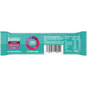 TRIBE Vegan Energy Bar Box 16x42g, sour cherry
